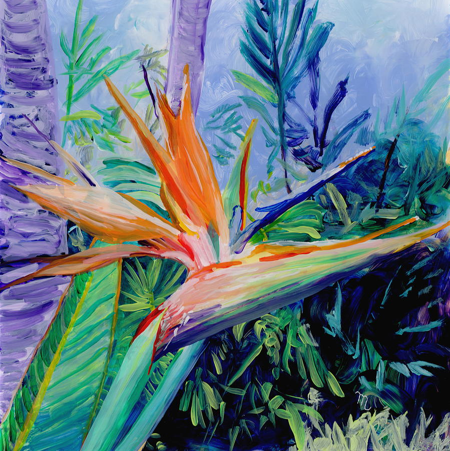Tropical Bird of Paradise by Marionette Taboniar