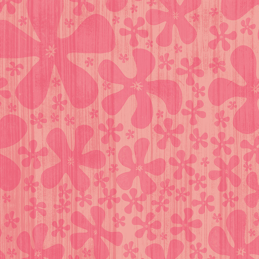 Tropical Floral Pattern by Jen Montgomery
