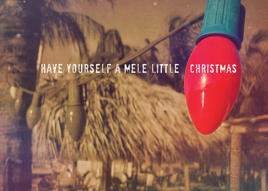 Tropical Photograph - Tropical Holiday Quote by JAMART Photography
