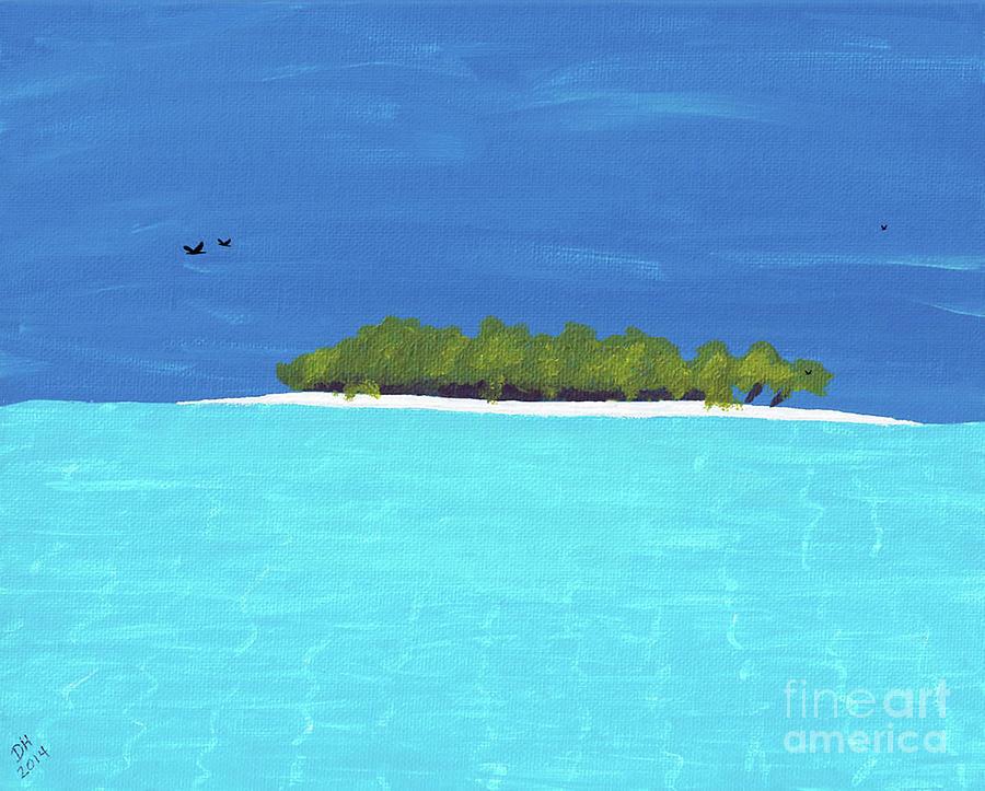 Tropical Island by D Hackett