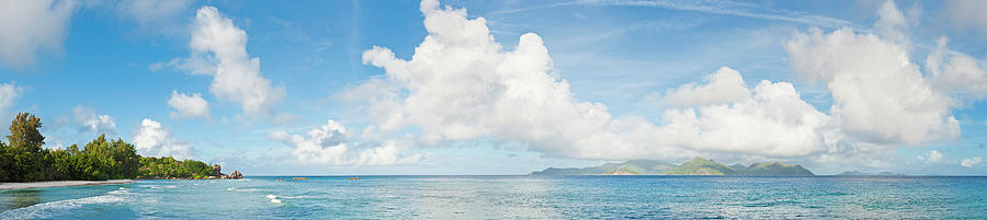 Tropical Island Turquoise Ocean Beach Photograph by Fotovoyager