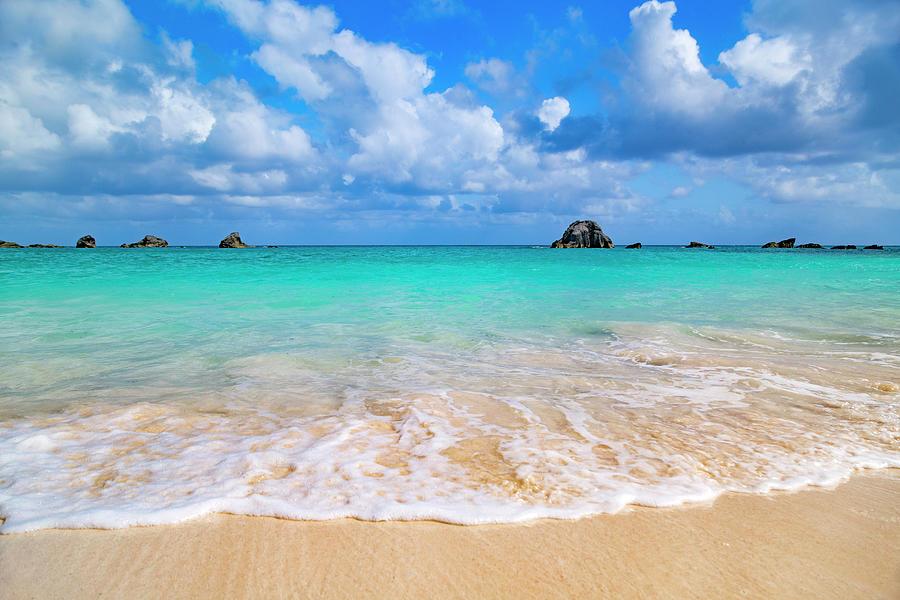 Bermuda Photograph - Tropical Paradise Beach Day  by Betsy Knapp