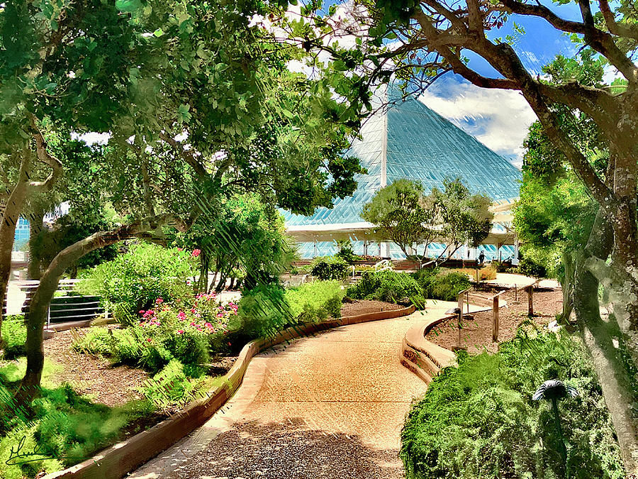 Tropical Path by GW Mireles