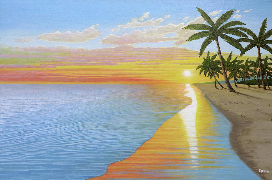 Tropical Sunset by Kenneth M Kirsch