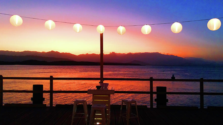 Tropical Sunset by Nareeta Martin