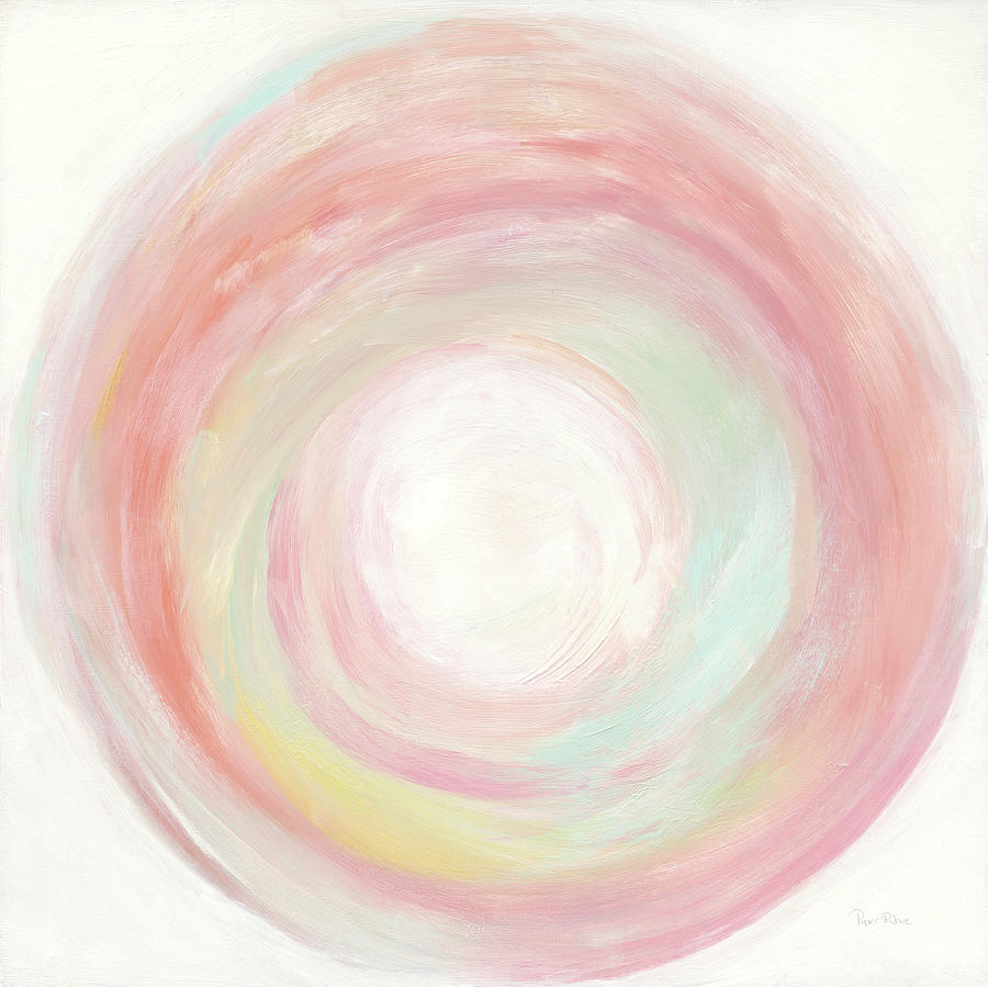 Abstract Painting - Tropical Swirl I by Piper Rhue