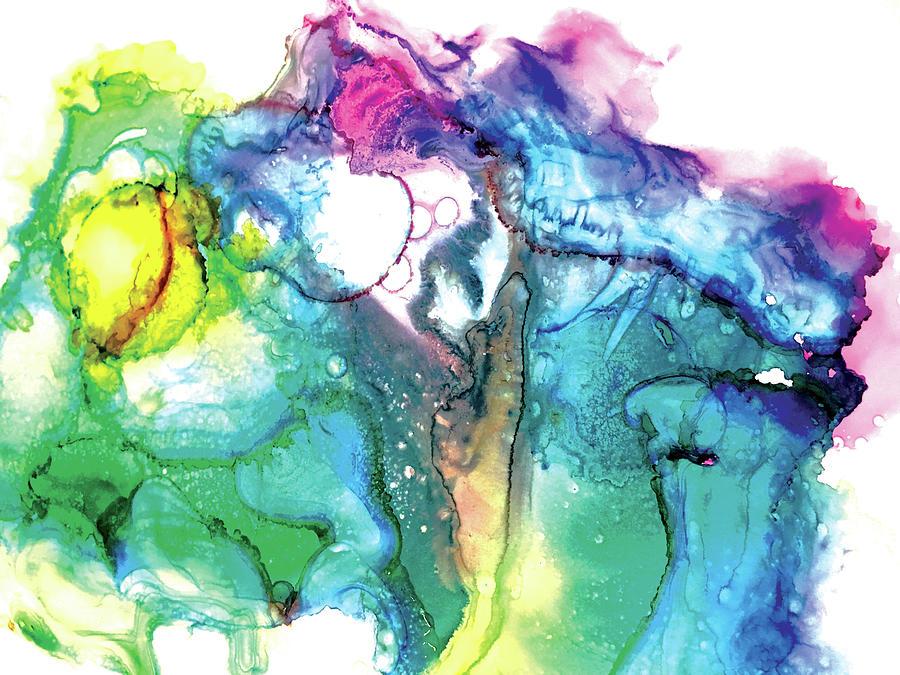 Tropical Swirls by Christine Chin-Fook