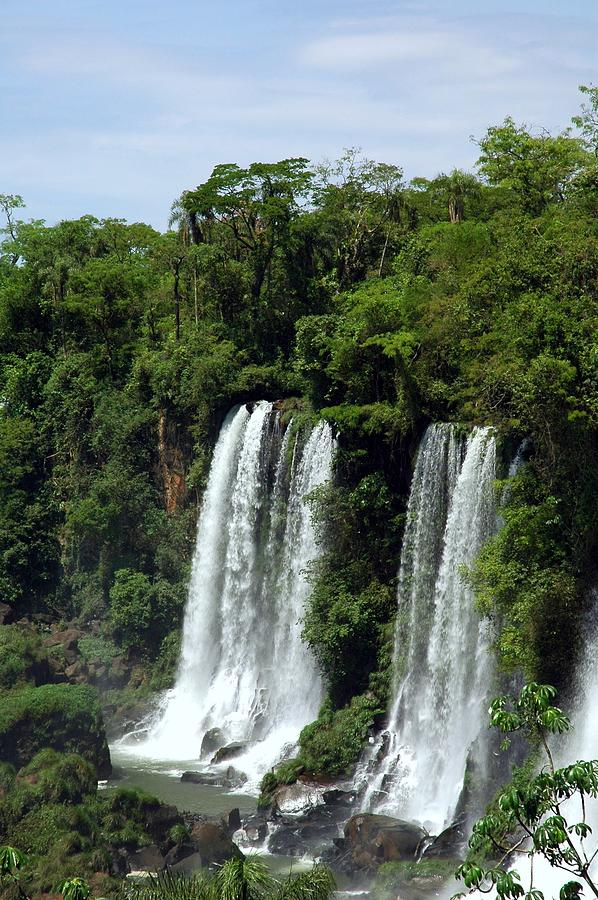 Tropical Waterfall Photograph by Rollingearth