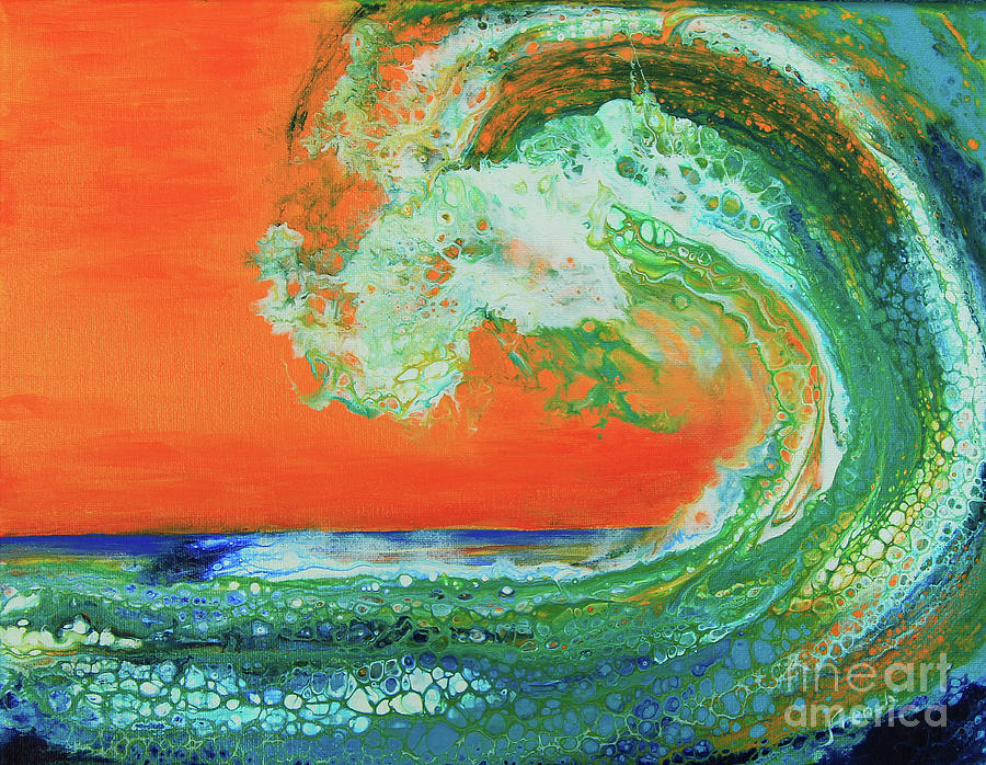 Tropical Wave by Jeanette French