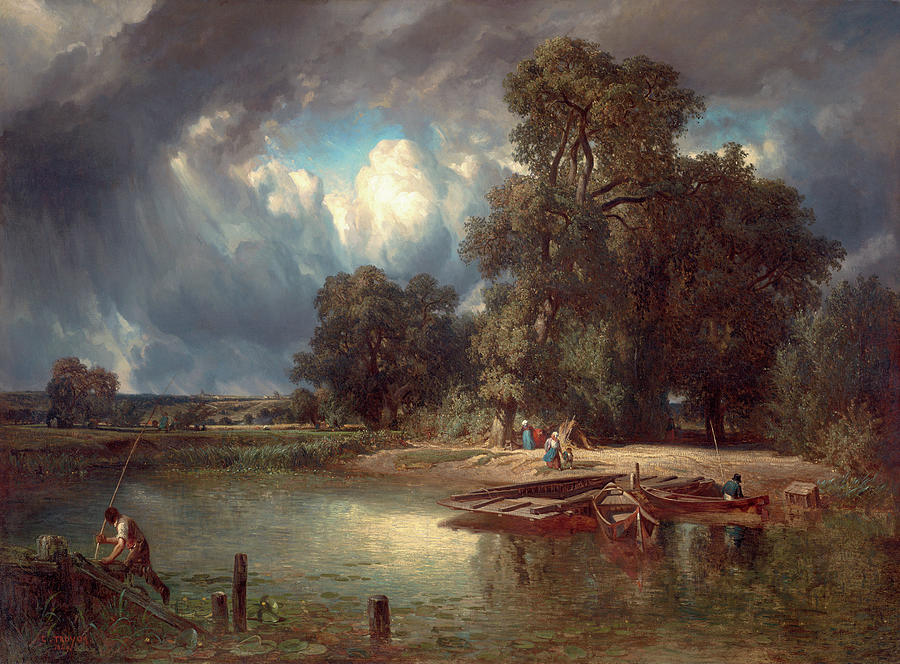 Troyon: The Storm, 1849 by Constant Troyon