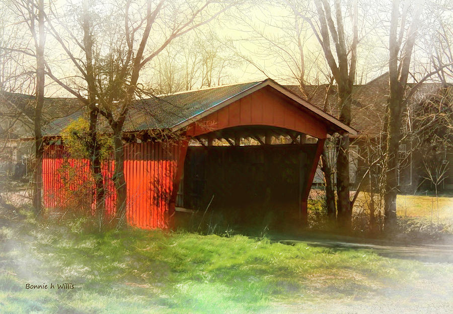 Troys Little Covered Bridge by Bonnie Willis