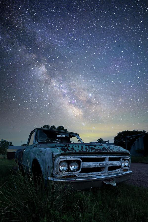 South Dakota Photograph - Truck Yeah by Aaron J Groen