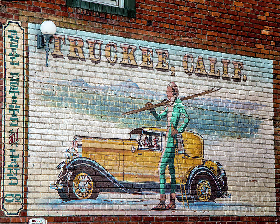 Truckee Sign by Stephen Whalen