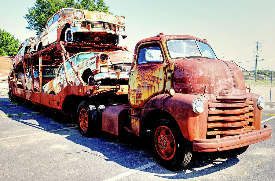 Truckin That Rust by Brian Cole