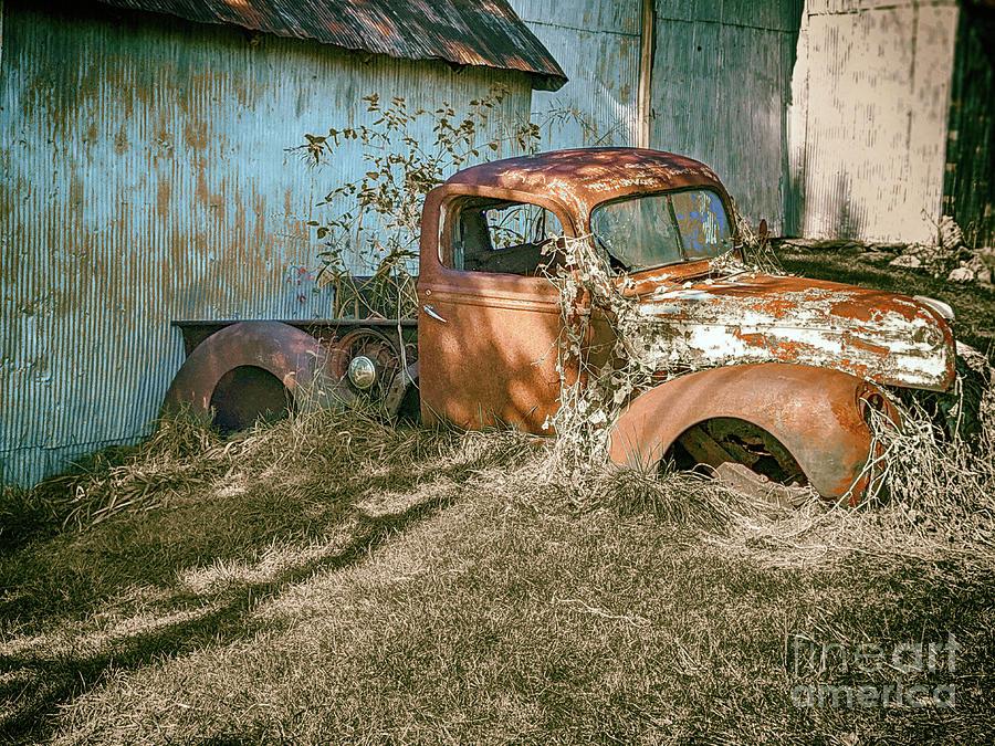 Appalachia Photograph - Truckside Park - Appalachia  by Steven Digman