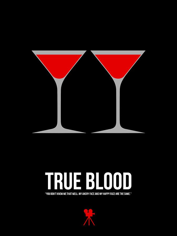 True Blood Digital Art - True Blood by Naxart Studio
