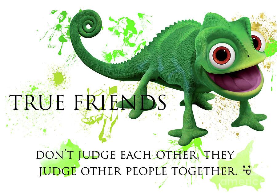 True Friends - Funny Cute Friendship Quotes 1