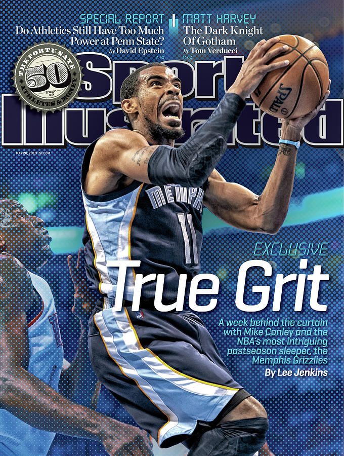 True Grit Exclusive. A Week Behind The Curtain With Mike Sports Illustrated Cover Photograph by Sports Illustrated