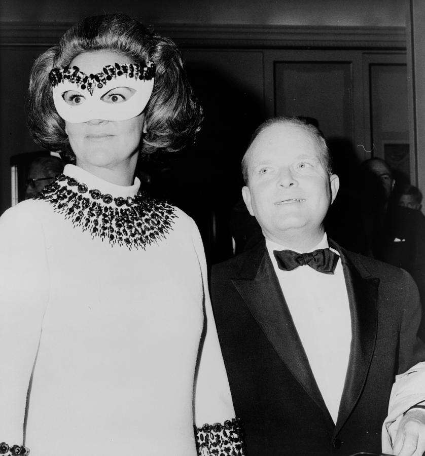 Truman Capote And Katherine Graham, 1966 by SCIENCE SOURCE