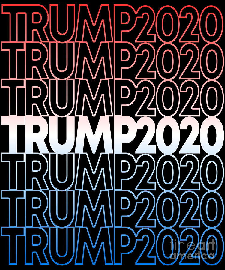 Trump 2020 Retro Donald Trump for President by Flippin Sweet Gear