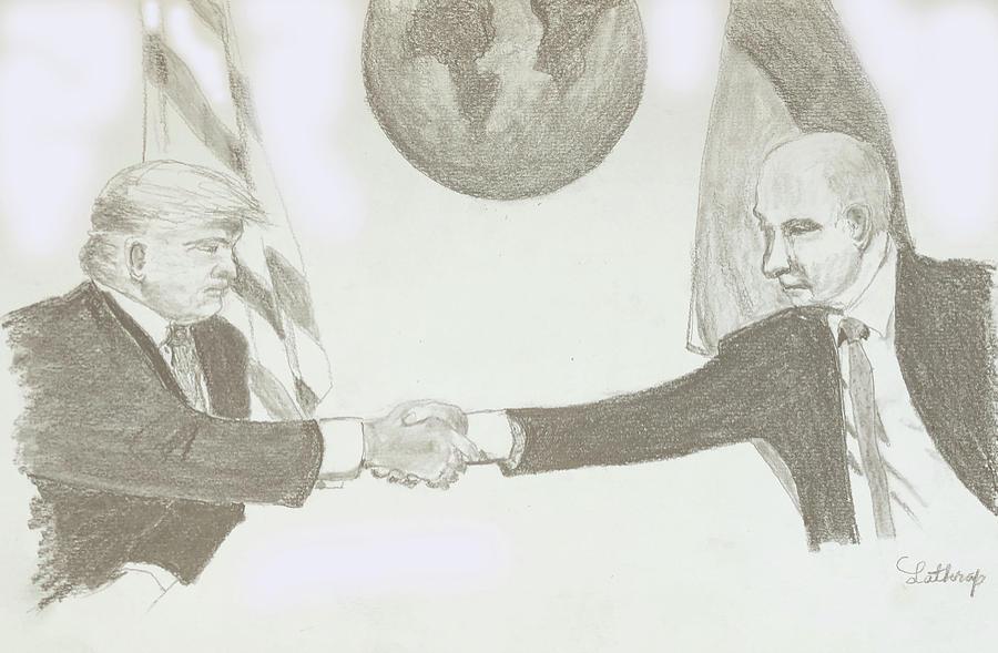 Trump and Putin by Christine Lathrop