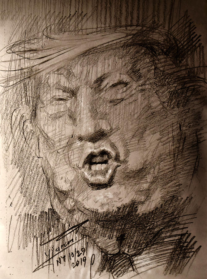 Trump-the Disaster by Ylli Haruni