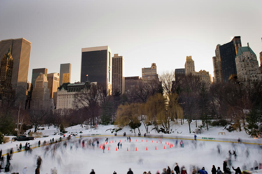 Trump Wollman Skating Rink, New York Photograph by Terenceleezy