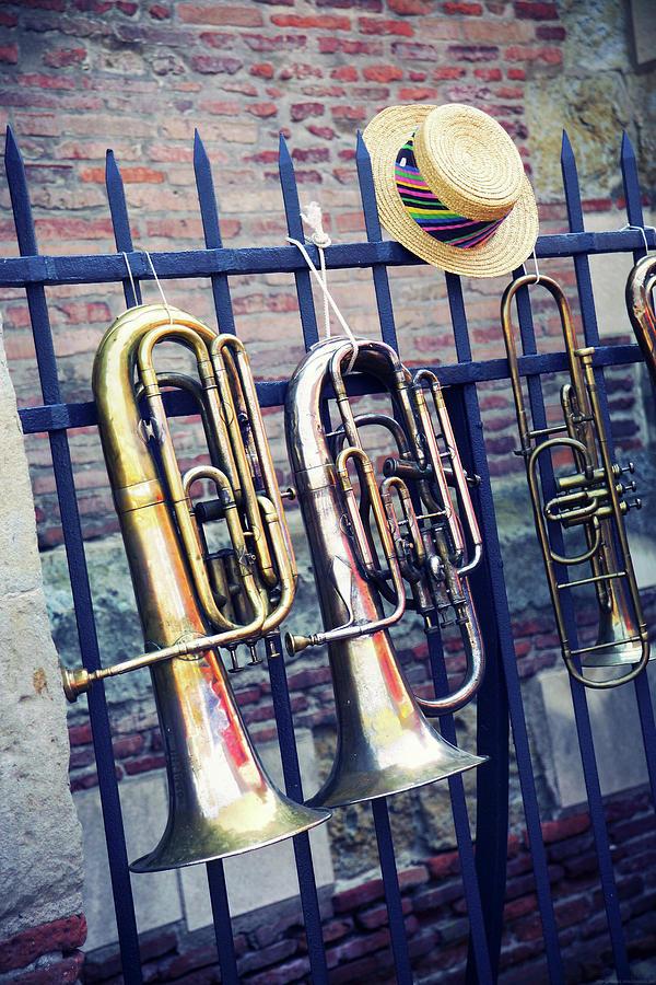Trumpet Photograph by Christian Rivière