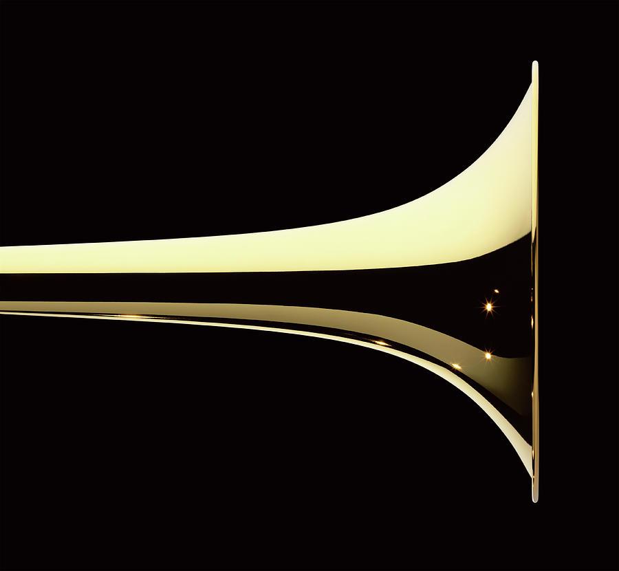 Trumpet Photograph by Plainview