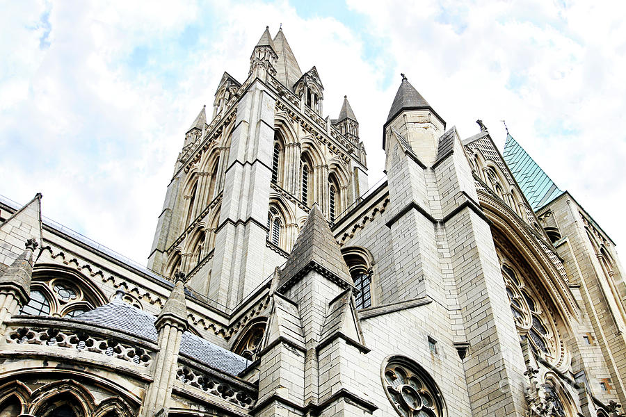 Truro Cathedral Spires Photograph