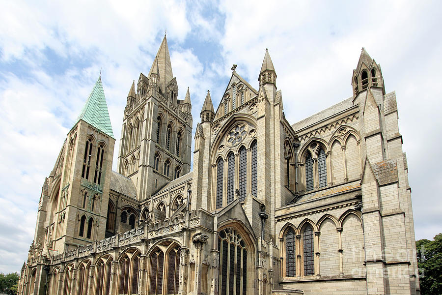 Truro Cathedral From St Marys Street Photograph