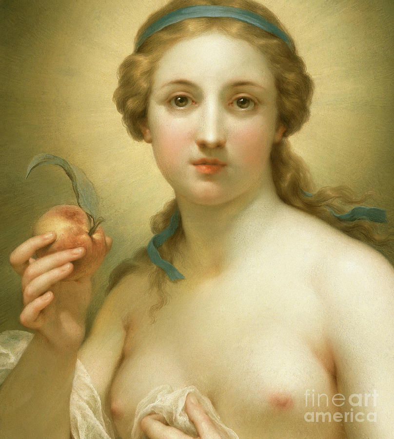 Truth, 1756 Detail by Anton Raphael Mengs