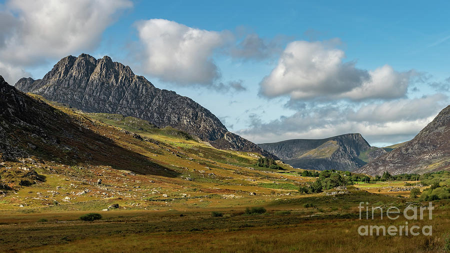 Tryfan and Ogwen Valley Snowdonia  by Adrian Evans