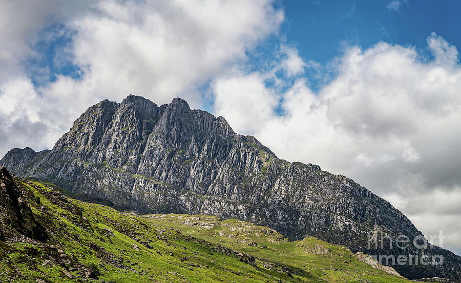 Tryfan mountain East Face Snowdonia by Adrian Evans