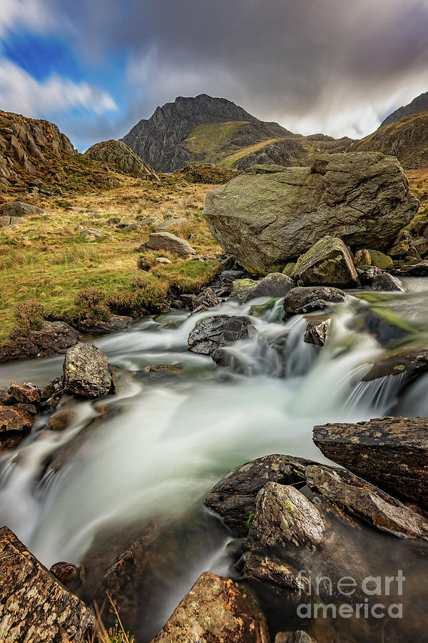 Tryfan Mountain north Wales by Adrian Evans