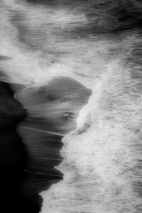 Trying To Surf Photograph by Olavo Azevedo