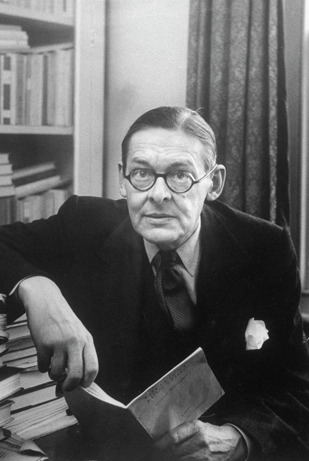 Ts Eliot Photograph by Alfred Eisenstaedt