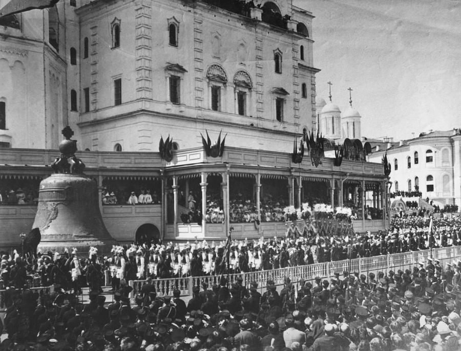 Tsars Coronation Photograph by Hulton Archive