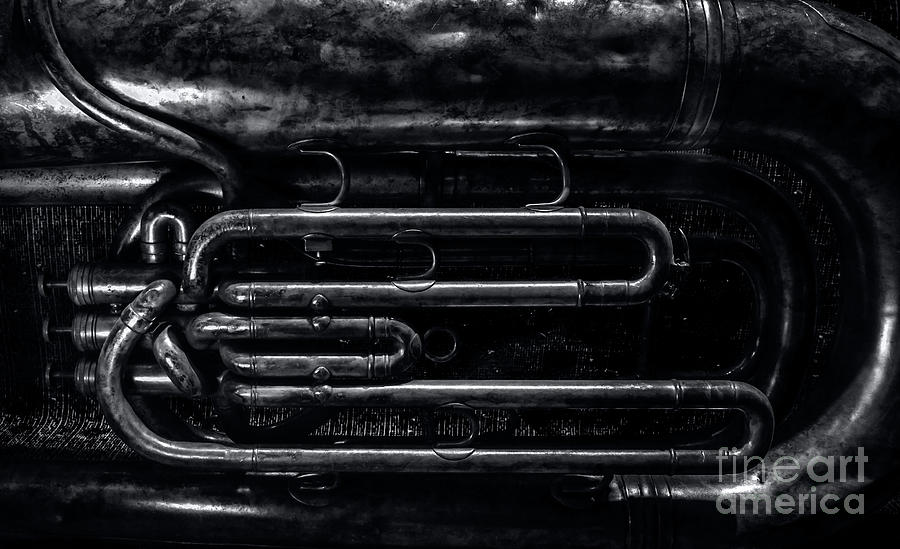 Tuba Valves by James Aiken