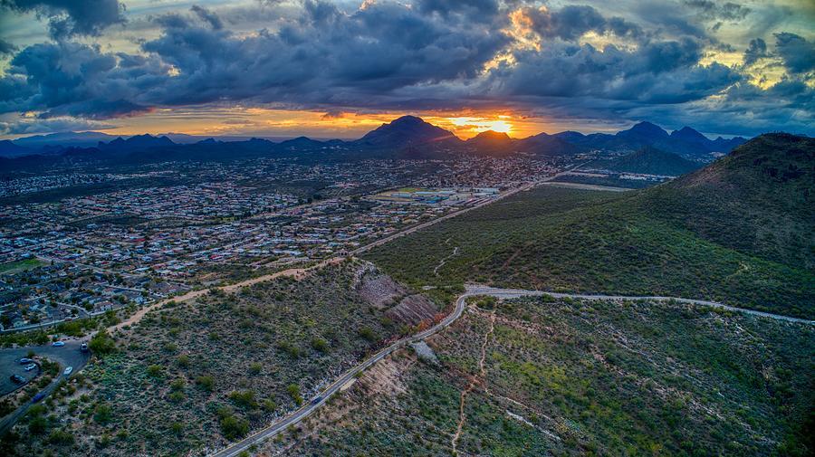 Tucson Sunset by Anthony Giammarino
