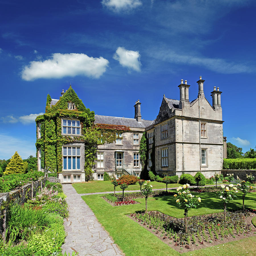 Tudor Style Mansion In Ireland Photograph by Mammuth