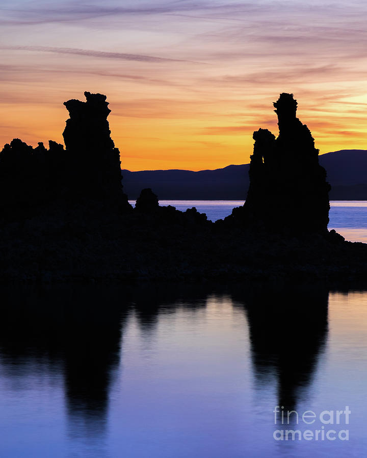 Tufa Silhouette by Vincent Bonafede