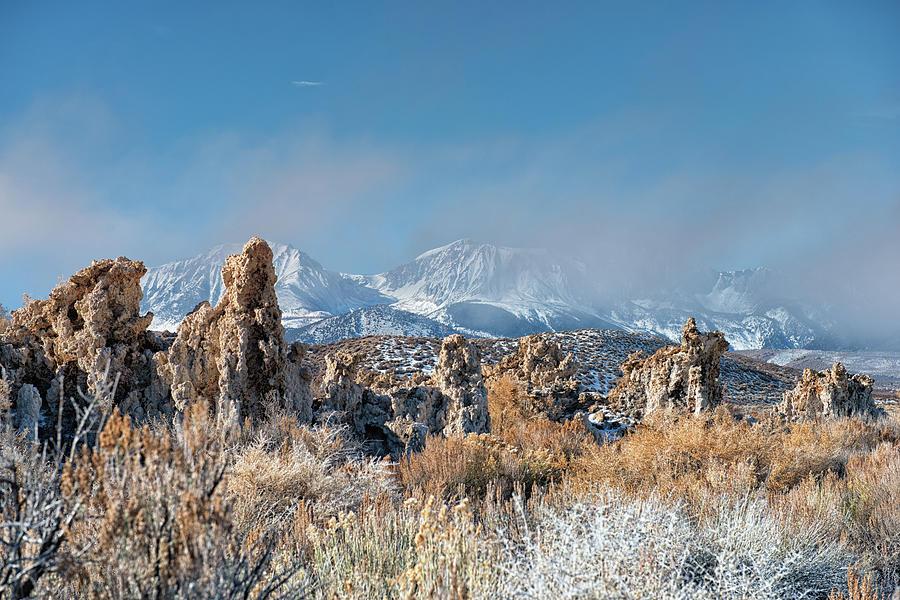 Tufas In Winter - Mono Lake - California Photograph