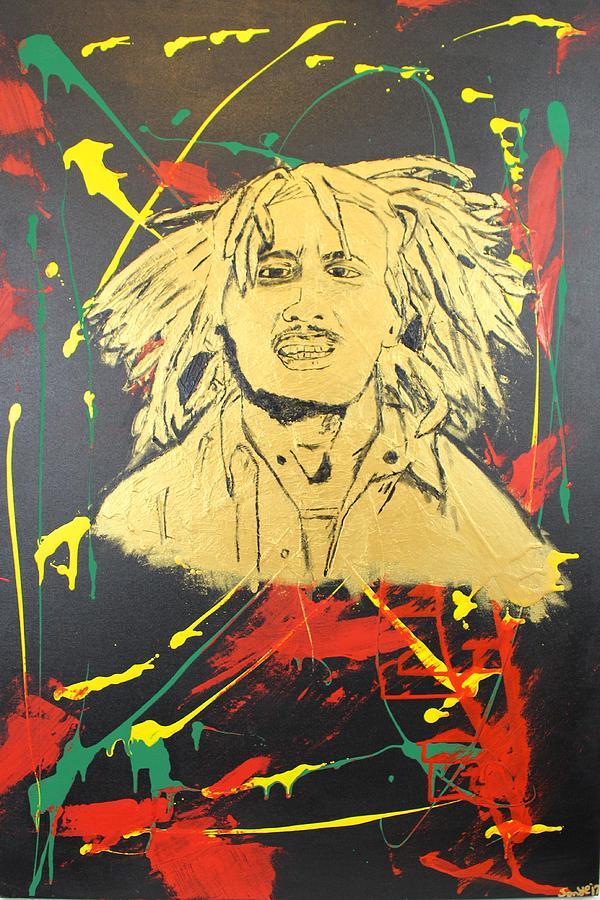 Tuff Gong Painting by Sonye Locksmith