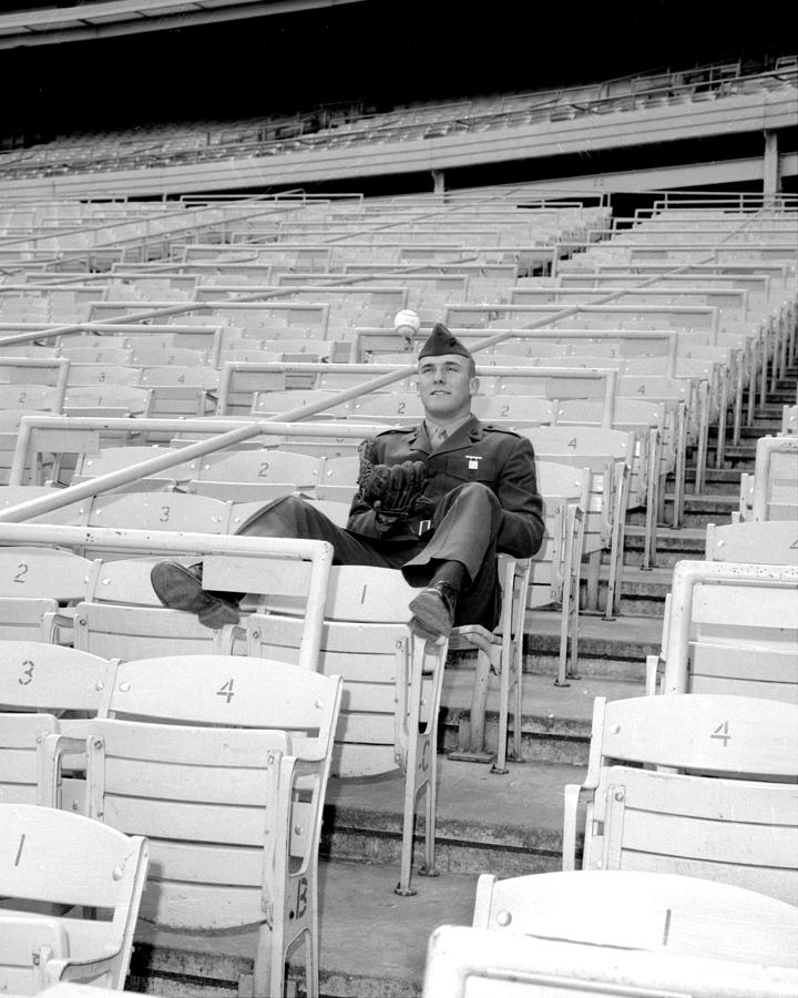 Tug Mcgraw, A Marine Reservist Now Photograph by New York Daily News Archive