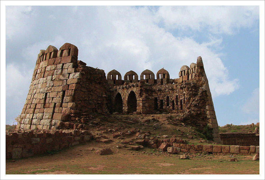 Tughlaqabad Fort, New Delhi, In Photograph by Naveesh Goyal
