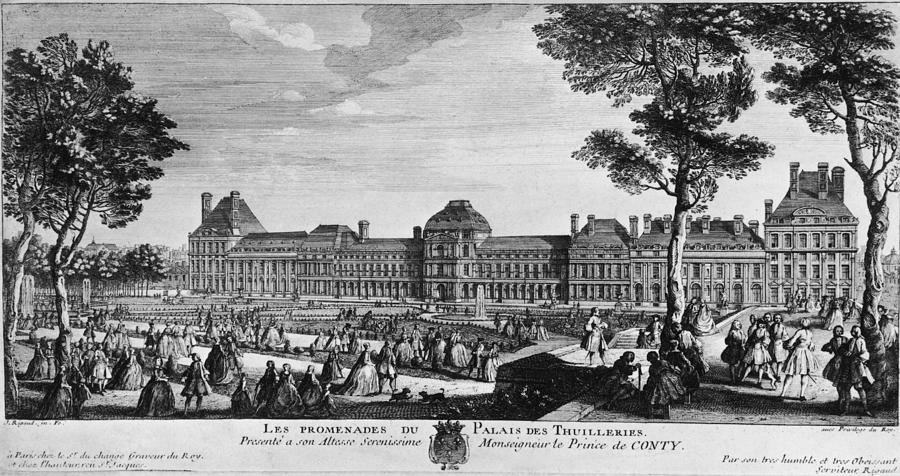 Tuileries Palace Photograph by Hulton Archive