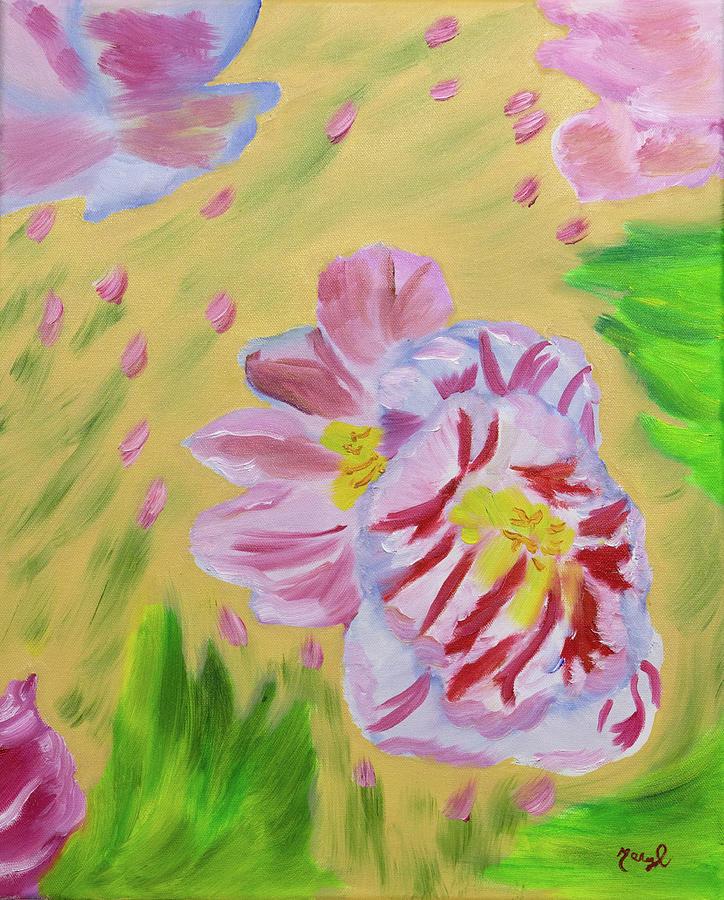 Tulip Drops by Meryl Goudey