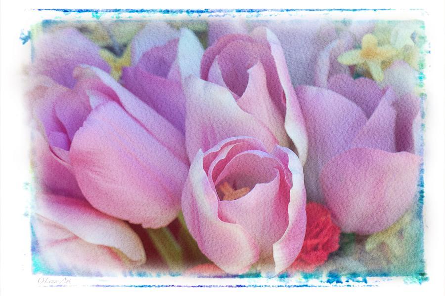 Tulip  by OLena Art - Lena Owens