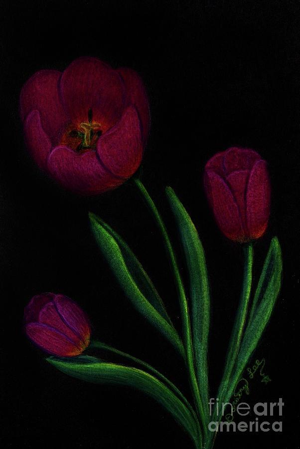 Tulip Trio by Dorothy Lee